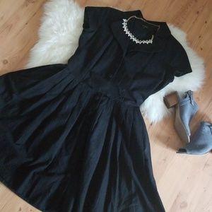 Modcloth gorgeous black dress